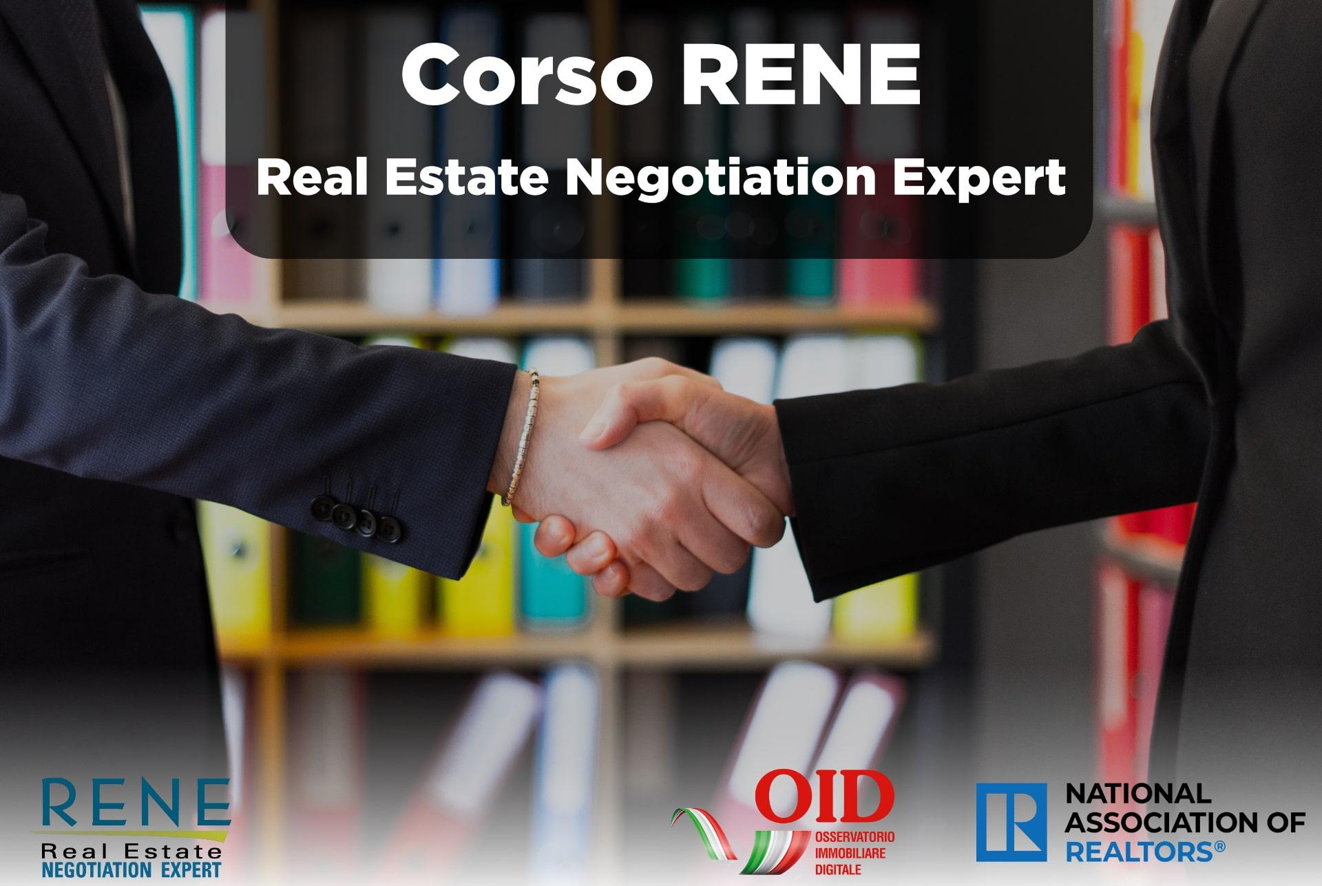 Corso RENE NAR negoziazione Immobiliare
