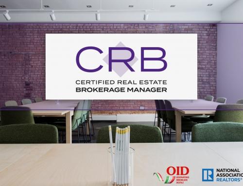 Alla scoperta della designazione CRB – Certified Real Estate Brokerage Owner.